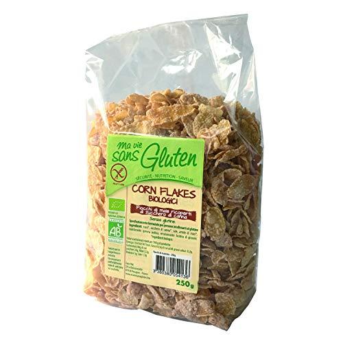 Ma Vie Sans luten Corn Flakes Glacés 1 kg 1 Unité - Lot de 4