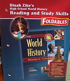Dinah Zike's Foldables: Reading & Study Skills, 3D, Interactive Organizers (High School World History: Modern Times)