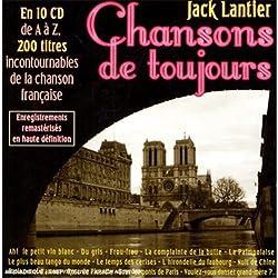 Coffret 10 CD : France, Chansons De Toujours