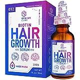 Hair Growth Serum, Hair Growth Treatment,Hair Serum, Hair Loss & Hair Thinning Treatment, Hair Growth Oil Biotin for Stronger, Thicker, Longer Hair 1oz