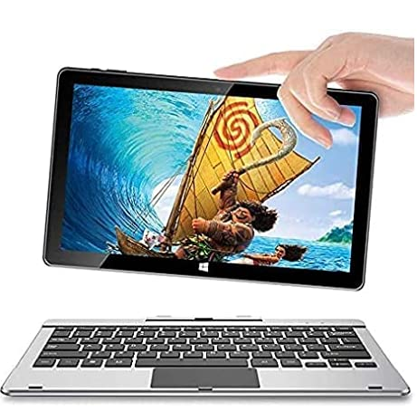 Jumper Touch Screen Laptop 6GB RAM 64GB eMMC 11.6 inch Windows 10 Laptop Tablet PC Removable Keyboard Intel Quad Core CPU Supports up to 256GB TF Card Expansion