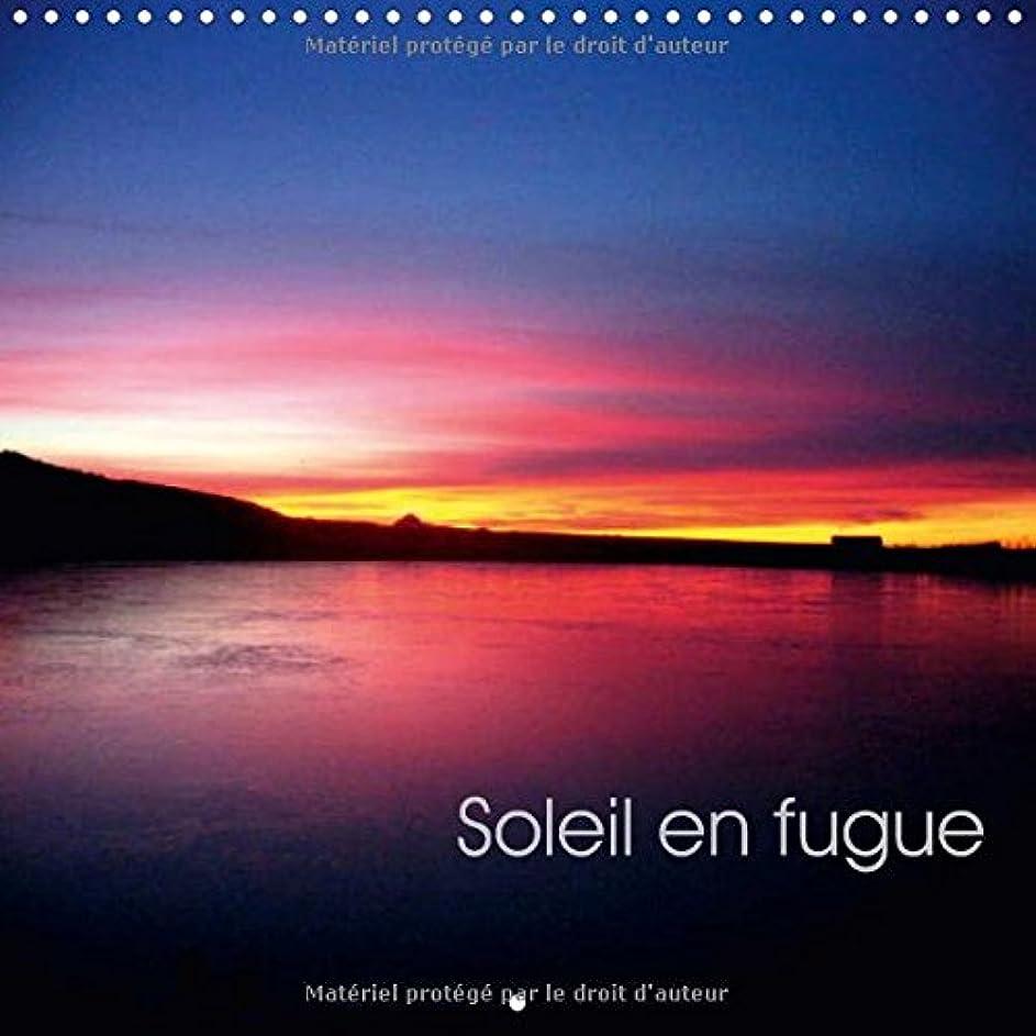 起業家粘着性アルファベット順Soleil En Fugue 2017: Coucher De Soleil (Calvendo Nature)
