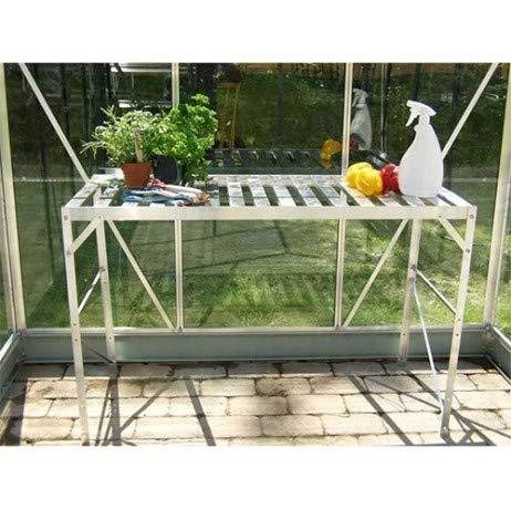 Lams Table 1 Plateau pour Serre de Jardin 76 cmLaqué Vert Sapin