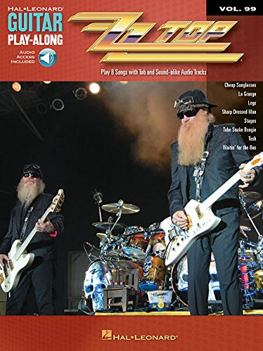 Guitar Play-Along Volume 99: ZZ Top: Play-Along, CD für Gitarre