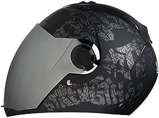 Steelbird Air SBA-2 Full Face Helmet (Black, Large)