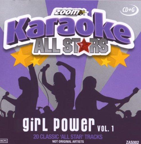 Zoom Karaoke CD+G - Girl Power - Vol. 1 - All Stars Karaoke Series ZAS002