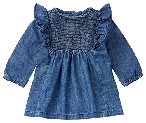 Noppies Baby-Mädchen Mädchenkleid Marana Jeanskleid (Medium Wash (P534), 50)