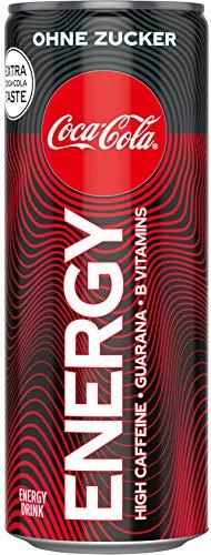 Coca-Cola Energy ohne Zucker EINWEG, (1 x 250 ml)