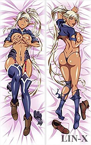 Pillowcases Decorativas para Almohada CUUIK XBARPIMZSTU Kuroinu-Kedakaki Seijo wa Hakudaku ni Somaru-Chloe Natural Velvet Pillow Case Cover Fundas para Almohada 160 x 50cm(62.9in x 19.6in)