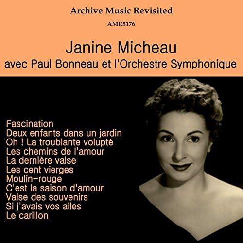 Paul Bonneau, Orchestre symphonique Raymond Saint-Paul & Janine Micheau