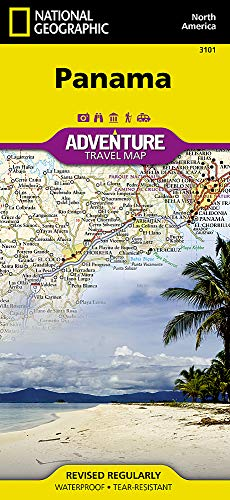 Panama (National Geographic Adventure Map, 3101)