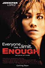 ENOUGH (2002) Original Authentic Movie Poster - 27x41 One Sheet - Double-Sided - FOLDED - Jennifer Lopez - Billy Cambell - Juliette Lewis