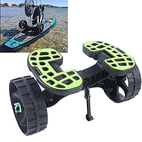 GFYWZ Carro De Kayak De Alta Resistencia Carro De Kayak con Capacidad De Carga De 75 Kg Carro De Transporte De Kayak para Transportar Kayaks, Canoas, Tablas De Remo, Colchonetas Flotantes