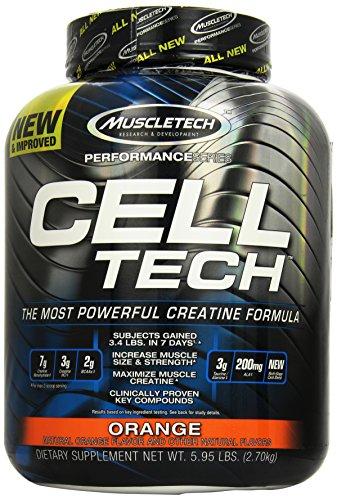 Muscletech Cell-Tech - Orange, 1er Pack (1 x 2.7 kg)