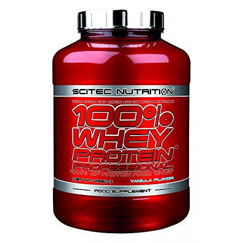 Scitec Nutrition 100{e5f3260c2b693d29daa19e6b0dd9954343be18416ab26298abf24a6056e80e16} Whey Protein Professional 2350g Kokosnuss