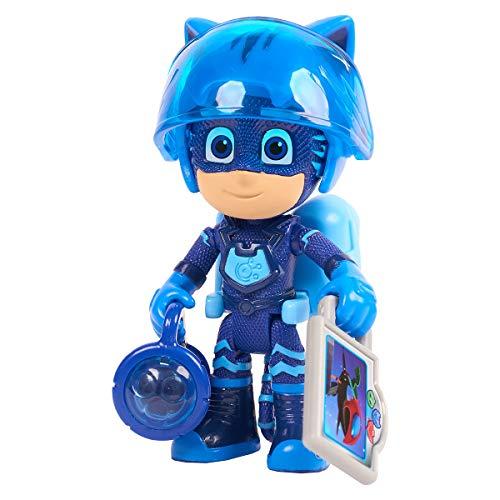 Simba  109402361 - PJ Masks Spielfigur Catboy / Pyjamaheld / Action Figur / beweglich / Zubehör mit Licht / 8cm groß, für Kinder ab 3 Jahren