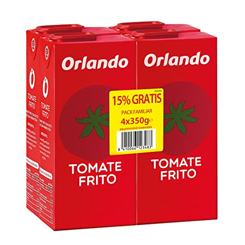 ORLANDO Tomate Frito Brik 4 x 350g