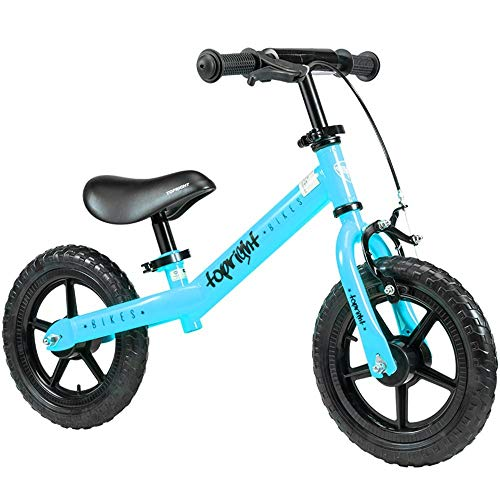 XBSLJ Kids' Bikes, Children Bicycle Bike for Ages 1.5 to 5 Years ndash; Best Sport Bicycle Boys Girls ndash; Kids Skip Tricycles on The Lightest First Bike for Newborn (Color : Blue)