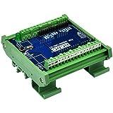 Módulo de bloque de terminales de ruptura de montaje en carril DIN para Arduino UNO R3