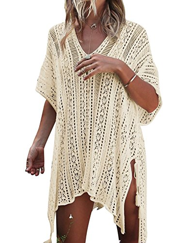 Product Image of the JOSIFER Women Summer Swimsuit Bikini Beach Swimwear Crochet Cover up