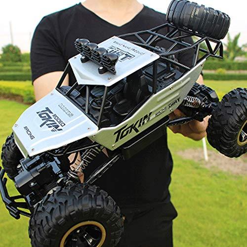 Lotees Camiones todoterreno RC 1:12 4X4 RC Rock Crawler alta velocidad coche teledirigido for adultos de los de 2,4 Ghz a prueba de agua del monstruo de control remoto carro de RC Rock Crawler emoción