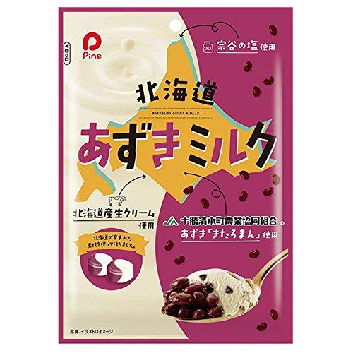 パイン 北海道 あずきミルク 80g×10袋