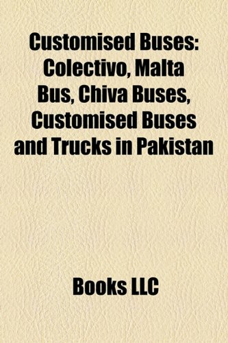 Customised Buses: Colectivo, Malta Bus,