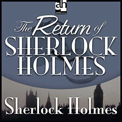 The Return of Sherlock Holmes copertina