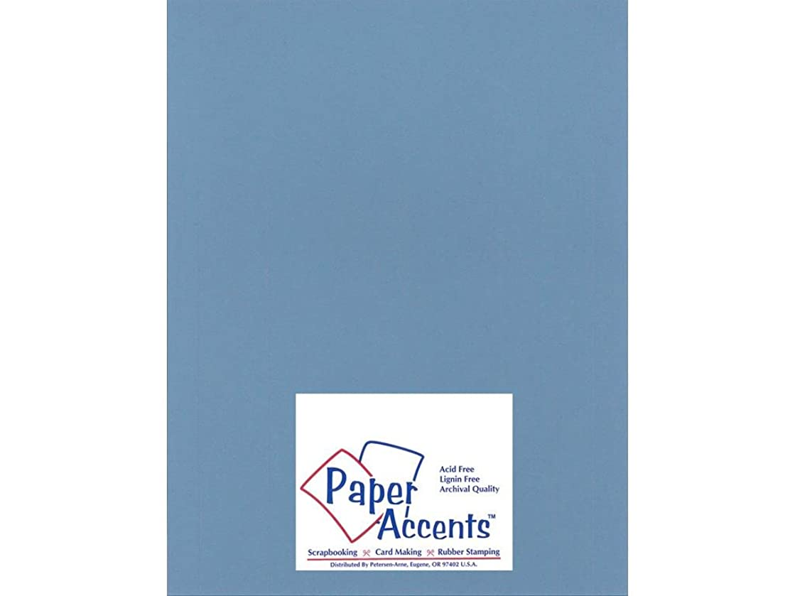 Accent Design Paper Accents Cdstk Hvywght Smooth 8.5x11 100# Twilight