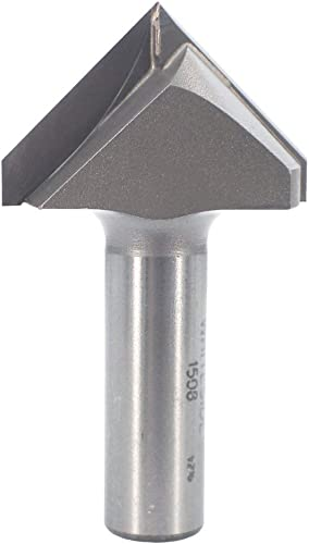 popular Whiteside Router Bits 1508 V-Groove Bit with 90-Degree 1-1/2-Inch sale Cutting Diameter and high quality 3/4-Inch Point Length online sale