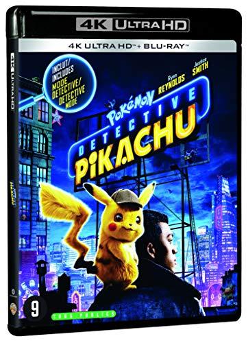 Pokémon détective Pikachu 4k ultra hd [Blu-ray] [FR Import]