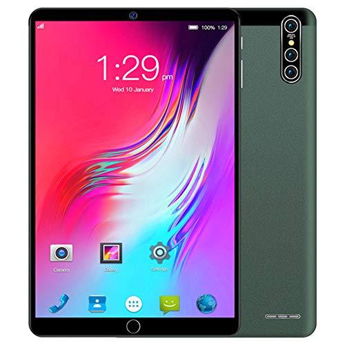 ELLENS Tableta Android 10.1 Pulgadas, Tableta 4G desbloqueada con Ranuras para Tarjetas SIM Dobles, Pantalla IPS, 1GB RAM + 16GB ROM / 2GB RAM 32GB ROM, 4000mAh batería