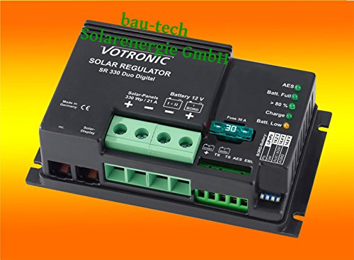 Votronic Solar Laderegler SR330 Digital 21 Amper 12Volt von bau-tech Solarenergie GmbH