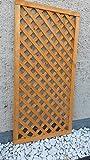 Rankgitter Rankzaun Trennspalier Bogen Garten Zaun Gartenholz 0,90cm x180 cm Pinie
