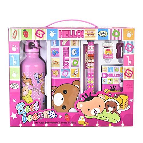 FAMKIT 8 piezas conjunto estacionario regalo perfecto Mini colección Escuela Conjunto Estacionario Accesorios para Niños Niñas