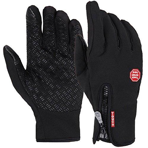 Phoenix Winter Windproof Waterproof Thermal Leisure Camping Fleece Touch Screen Gloves Small