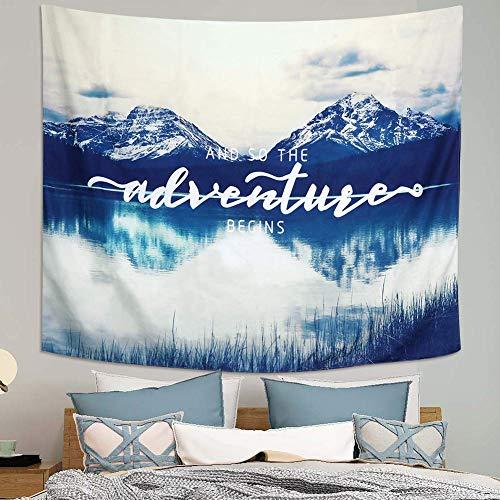 Dremisland Wandteppich Wandbehang Mandala Wandtuch Gobelin Tapestry Picknick Strand Tischdecke Dekoration für Schlafzimmer/Wohnzimmer/Wohnheim Zubehör