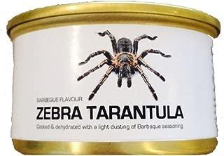 Edible Dehydrated Zebra Tarantula