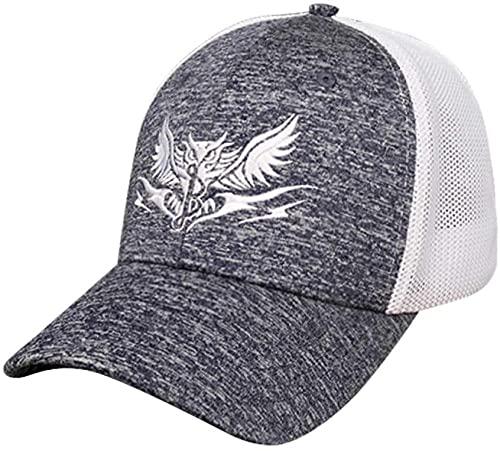 BOIPEEI Dayooz Gorra de béisbol Colgador de béisbol Gafas de Sol Bordadas de béisbol Sombrero Vacío Snapback para Mujer Sombrero para el Sol