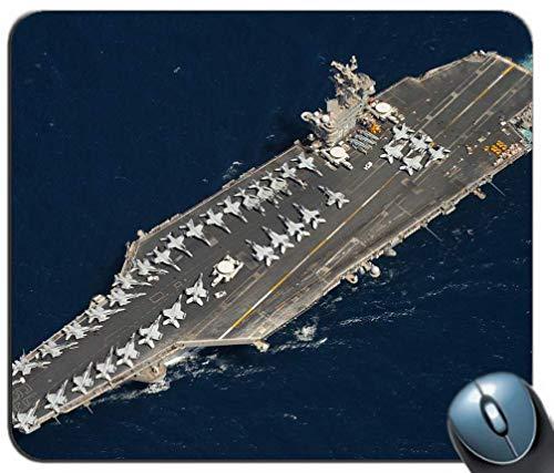 Flugzeugträger Jets Schiff Antenne Militär Rutschfeste Gummi Mousepad Gaming Mouse Mat Mouse Pad