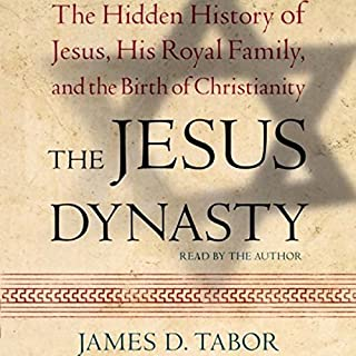 The Jesus Dynasty audiobook cover art