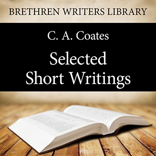 Selected Short Writings audiobook cover art
