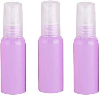Dolloress 3pcs Empty Spray Bottle for Essential Oils Alcohol Mini Portable Size for Travel
