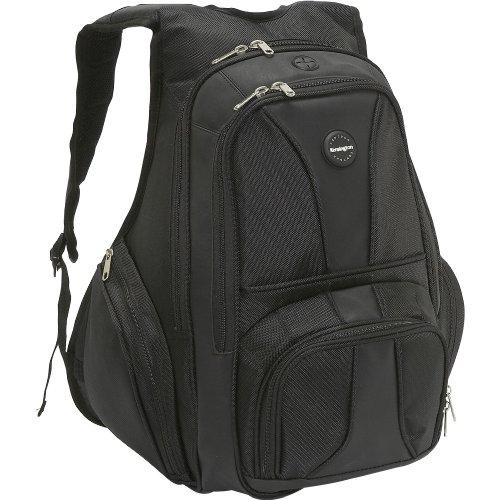 Kensington Sky Runner Backpack Nylon Blk f Notebook maletin para portátil 38.1 cm (15') - Funda (Funda Tipo Mochila, 38.1 cm (15'))
