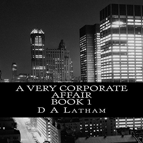 A Very Corporate Affair audiobook cover art