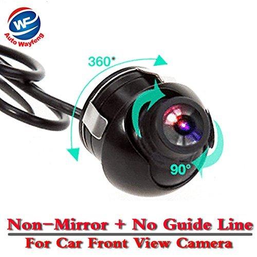 Auto Wayfeng® 360 Grad-Auto-Vorderansicht Kamera-Parken-Cam Wasserdicht mit Nicht-Spiegel und Parkverbot-Linie