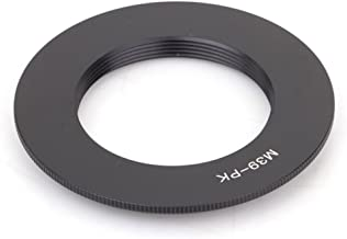 Pixco Adapter Suit for Leica M39 Lens to Pentax K Mount Camera Adapter Ring Black
