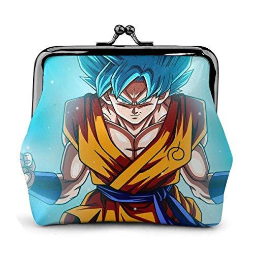 Monedero Anime Dragon Ball Super Son Goku Monedero Monedero Monederos Tarjetas de crédito Bolsa Exquisita Hebilla