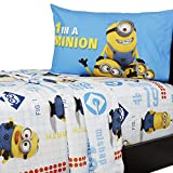 UNIVERSAL Despicable Me One in a Minion, 4 Stück Full-Bettlaken-Set