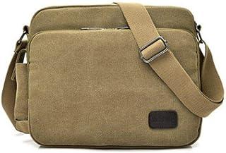 7L Shoulder Bag Canvas Big Capacity Messenger Bags Outdoor Camping Crossbody Bag